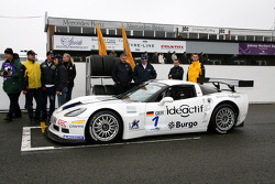 #1 Martini Callaway Racing Corvette Z06: James Ruffier, Arnaud Peyroles