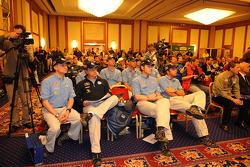 Media event: Volkswagen team drivers