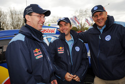 Dieter Depping, Giniel de Villiers and Hans Stuck