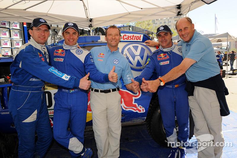 Dieter Depping, Giniel de Villiers, Kris Nissen, Carlos Sainz, Hans Stuck