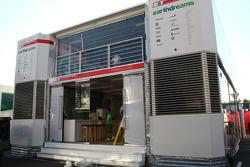 Honda Racing F1 Team motorhome