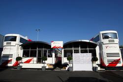 Toyota F1 Team, Motorhome
