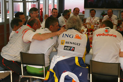 Teams meeting, Ron Dennis, McLaren, Team Principal, Chairman, Nick Fry, Honda Racing F1 Team, Chief Executive Officer, Flavio Briatore, Renault F1 Team, Team Chief, Managing Director