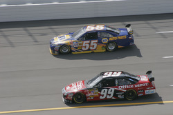 Carl Edwards and Michael Waltrip