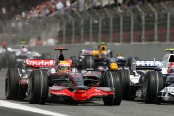 Start: Lewis Hamilton, McLaren Mercedes, MP4-23