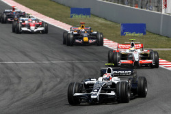 Kazuki Nakajima, Williams F1 Team, Giancarlo Fisichella, Force India F1 Team