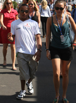 Nicholas Hamilton, Brother of Lewis Hamilton, McLaren Mercedes