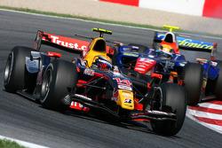 Sebastien Buemi, Trust Arden International, Giorgio Pantano, Racing Engineering