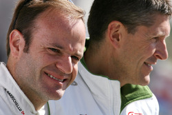 Rubens Barrichello, Honda Racing F1 Team celebrates his 257th