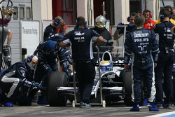 Nico Rosberg, Williams F1 Team, practice pitstop