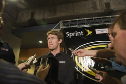 The NASCAR Sprint Pit Crew Challenge at the Time Warner Cable Arena in Charlotte: Carl Edwards