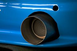 #10 Scuderia Augustusburg Brühl e.V. im ADAC BMW M3 E46 GTS exhaust detail