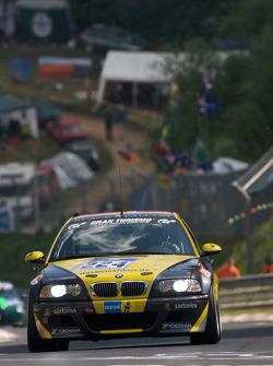 #224 Sartorius Team Black Falcon BMW M3 E46: Bona Ventura, Dieter Lehner