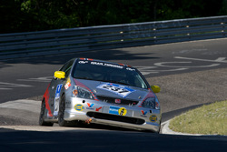 #237 Honda Civic R: Ola Setsaas, Jorgen Pettersen, Mikjel Svae