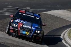 #119 Raeder Motorsport Audi A3: Elmar Deegener,  Jürgen Wollfarth, Christoph Breuer, Hans-Martin Gass