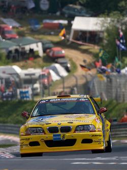 #83 MSC Rhön e.V. im AvD BMW M3: Jean Baptiste Chretien, Arnaud Peyrolles, René Woff, Fabrice Reicher