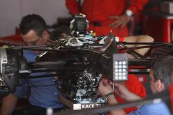 FIA Working on a Scuderia Ferrari gearbox