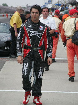 Burno Junqueira after the race