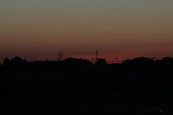 Dawn over the third corner