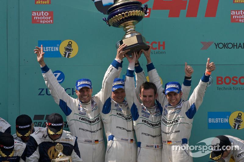 2008: Timo Bernhard, Marc Lieb, Romain Dumas, Marcel Tiemann