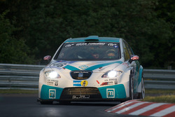 #146 Seat Leon Supercopa: Mike Jäger, Heiko Hammel, Gerd-Michael Schumacher