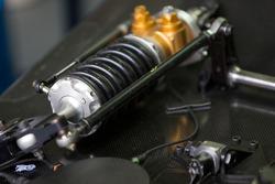 Pescarolo Sport Pescarolo Judd suspension detail