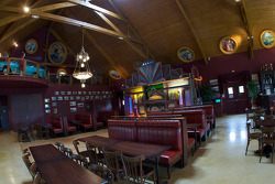 Restaurant and reception area