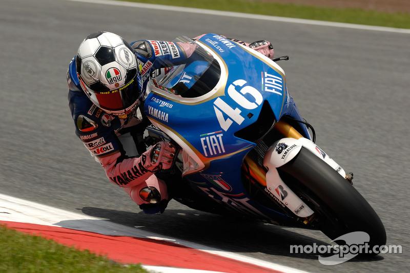 Valentino Rossi, Yamaha - Catalan GP 2008