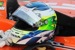 Jaime Camara's helmet