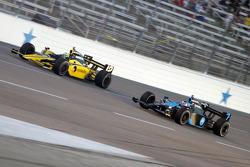 Tomas Scheckter and Danica Patrick