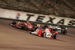 Helio Castroneves, Scott Dixon and Marco Andretti