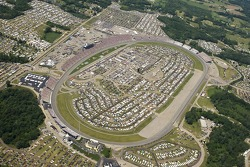 Aerial view of Michigan International Speedway