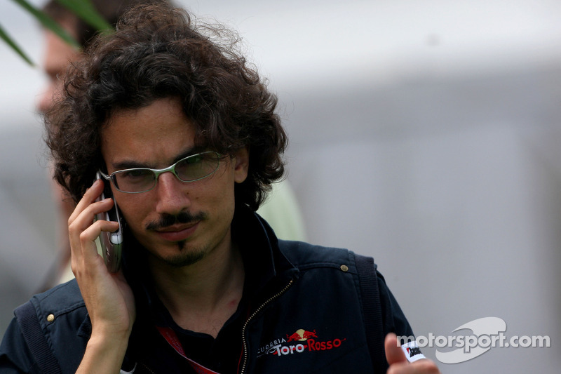 Laurent Mekies, Chief Engineer, Scuderia Toro Rosso