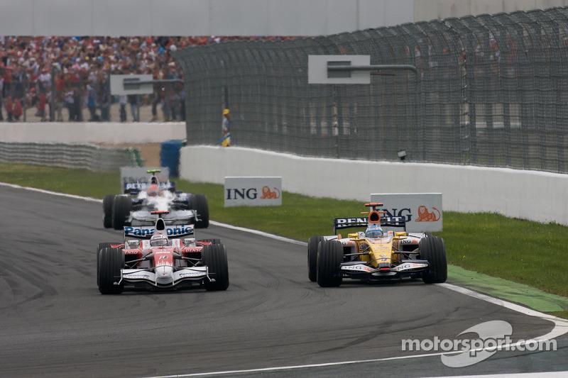Jarno Trulli, Toyota Racing, Fernando Alonso, Renault F1 Team