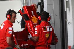 Scuderia Ferrari, detail, nosecone