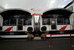 Toyota F1 Team, sponsored by the Batman movie
