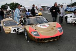 #55 Ford GT 40 Mk2 1966: Claude Nahum