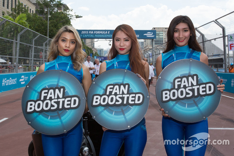 Grid girls na Fórmula E