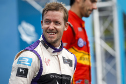Podio: al secondo posto Sam Bird, DS Virgin Racing Formula E Team