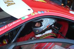 #50 Ineco - MP Racing Ferrari 458: David Gostner gride yerleşmeye hazır