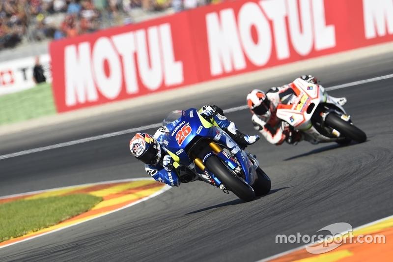 Маверік Віньялес, Team Suzuki MotoGP та Йонні Ернандес, Pramac Racing Ducati
