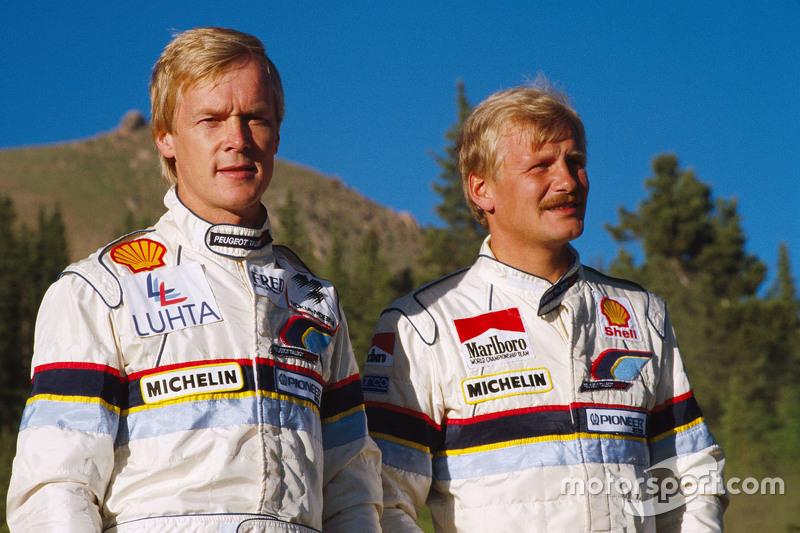 Ari Vatanen, Peugeot 405 Turbo 16 dan Juha Kankkunen, Peugeot 405 Turbo 16