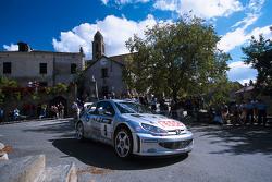 François Delecour et Daniel Grataloup, Peugeot Sport Peugeot 206 WRC