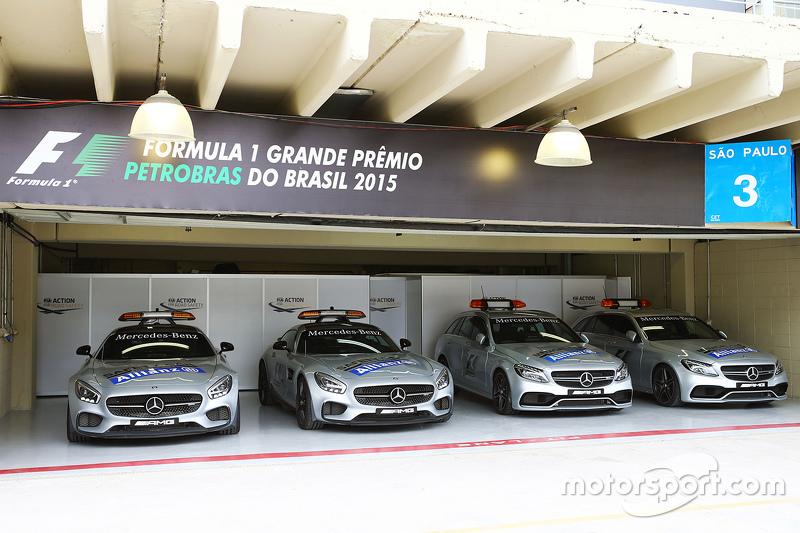 FIA Safety Cars e Medical Cars no paddock