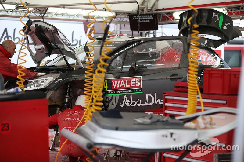 Citroën World Rally територія команди