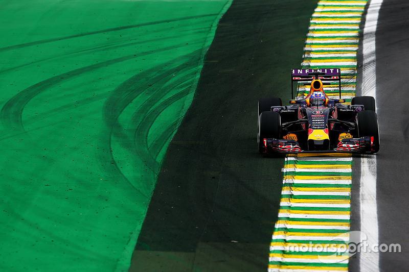 Daniel Ricciardo  en Interlagos