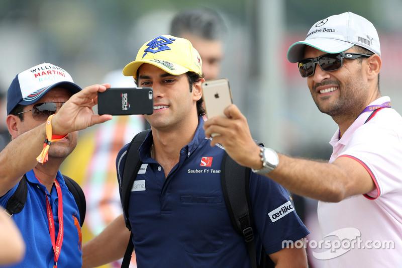 Гран При Бразилии, 12 ноября. Фелипе Наср