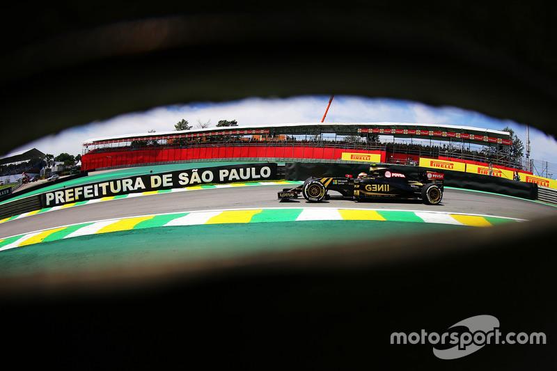 #9: Pastor Maldonado im Lotus F1 E23