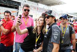 Серхіо Перес, Sahara Force India F1 з фанатами