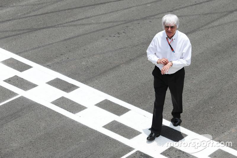 #6: Bernie Ecclestone in der Startaufstellung